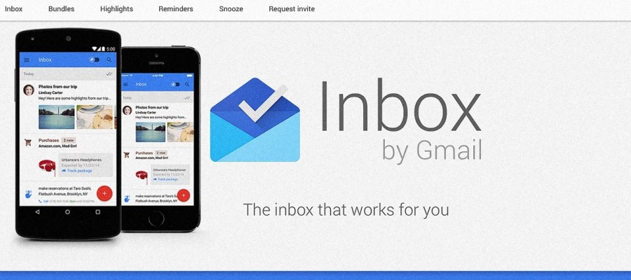 Google: InBox un assistant personnel qui va vous simplifier la vie !