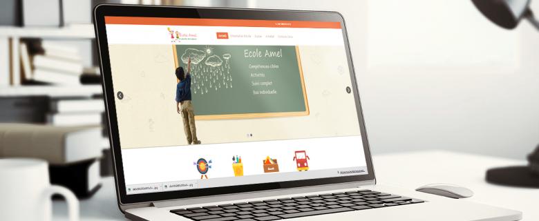 Site web de école Amel