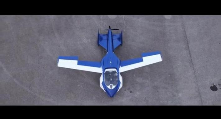 La voiture volante à l'essai!