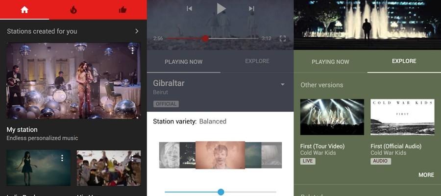 L'application YouTube Music fait son apparition sur Android et iOS