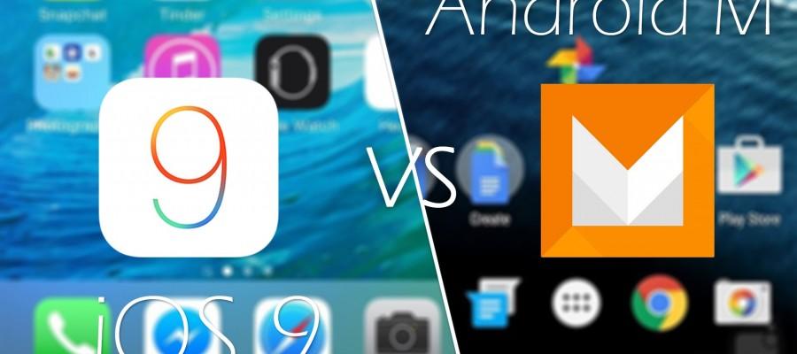 iOS9 vs Android 6.0 Marshmallow: Comparaison rapide entre les deux Os