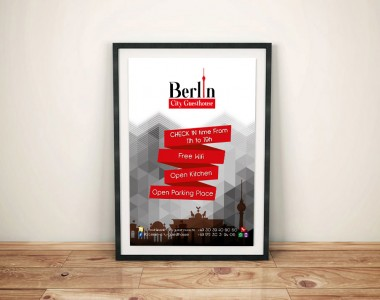 Affiche Berlin City Guest House