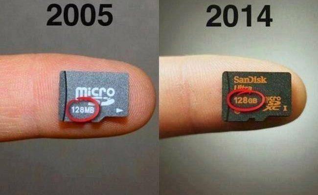 9 photos qui montrent à quel point la technologie a avancé pendant ses 50 dernières années!