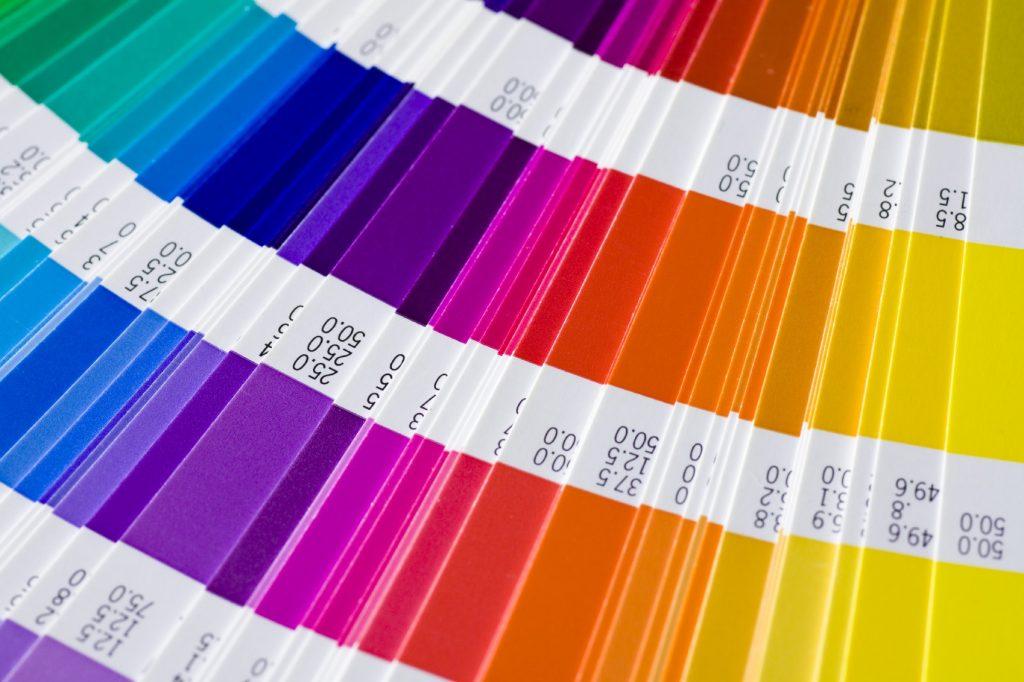 palette couleurs pantone